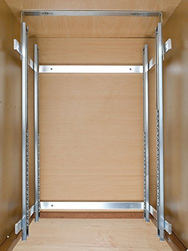 Rev-a-Shelf 5WB2-1822-CR 17.75'' x 22'' Double Pullout Wire Basket by Rev-A-Shelf (Image #4)