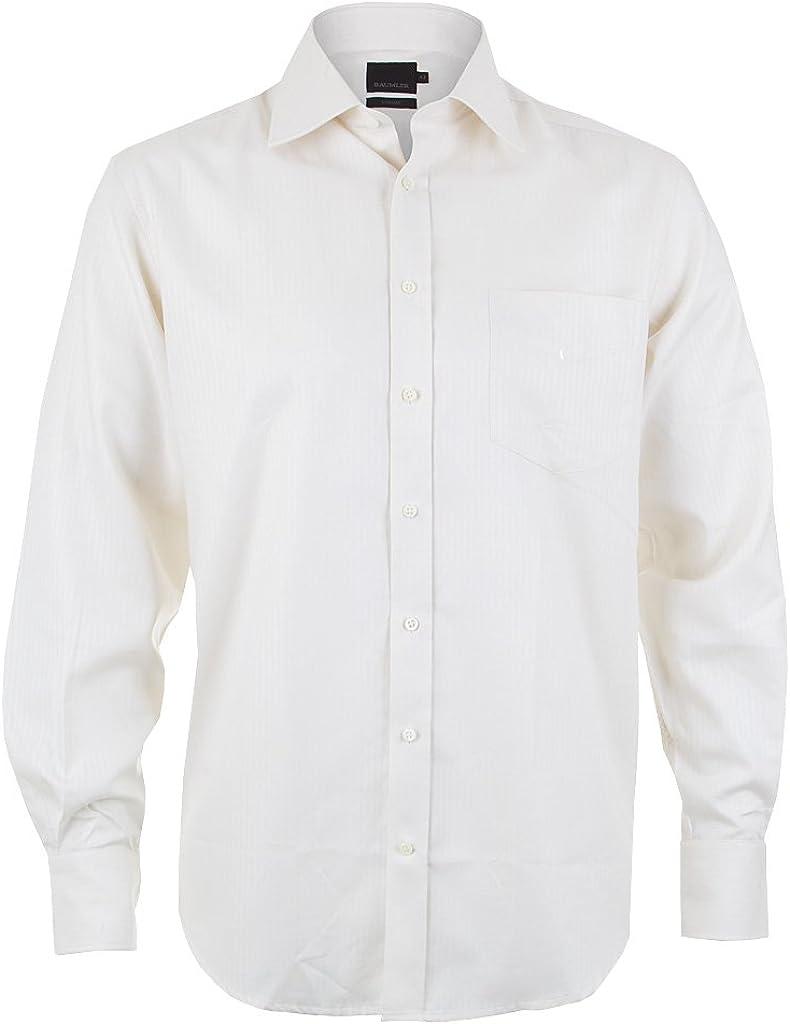 Bäumler - Camisa formal - para hombre blanco beige: Amazon.es ...