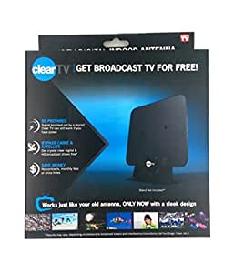 Clear tv indoor antenna kitchen dining for Antena tv interior amazon