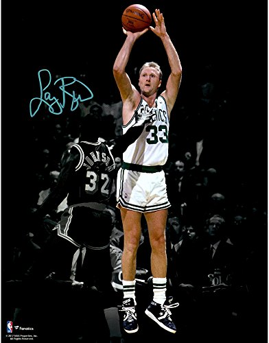 Larry Bird Boston Celtics Autographed 11