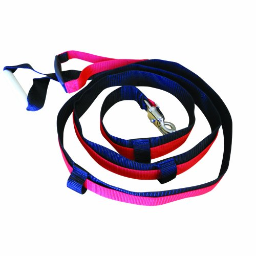 Prism Fitness Quick Release Speed Resistance Training Tool, Durable 10-foot Nylon Leash with Wide, Easy-Grip Handle, Sprint Resistor, Made