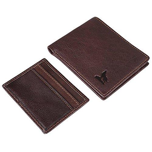 G JMD Genuine Leather Checkbook Bifold product image