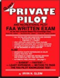 Private Pilot and Recreational Pilot FAA Written Exam, Gleim, Irvin N., 1581941285