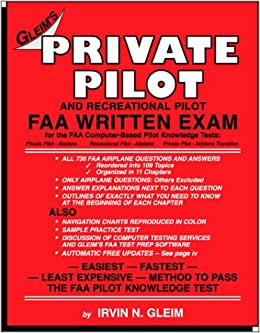 Private Pilot FAA Written Exam: Irvin N  Gleim: 9781581941289