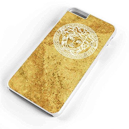Versace Logo Gold Marble iPhone 6S Plus Case - Versace Gold Logo