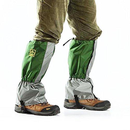 Leg Gaiters Leggings Cover Waterproof Snowproof Anti-Tear for Hiking Walking Climbing Hunting, Waterproof Snowproof Outdoor Hiking Walking Leg Cover Wraps Gaiters