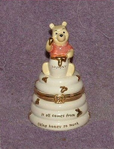 Lenox Disney POOH'S HONEY POT TREASURE BOX New in Box