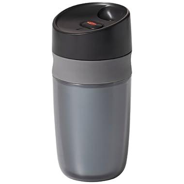 OXO Good Grips Single Serve Mini Travel Mug, Graphite- 10 ounce