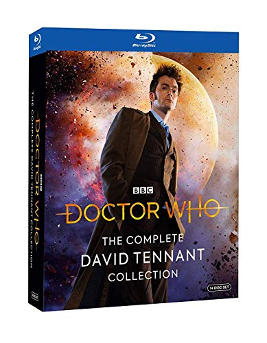 Doctor Who: The Complete David Tennant Collection (BD) [Blu-ray] (Complete Series Dr Who)