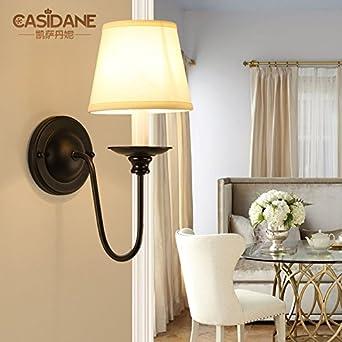 Larsure Vintage Candelabro lámpara de pared estilo industrial lámpara de pared Apliques de luz LED E27