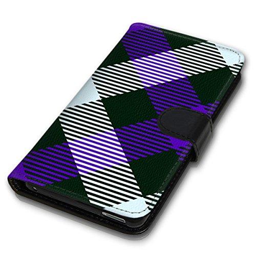 Wallet Book Style Flip Handy Tasche Case Schutz Hülle Schale Motiv Etui für Apple iPhone 6 Plus / 6S Plus - Design Flip MVD117