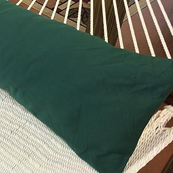 Caribbean Hammocks Double Hammock Pillow Dark Green Hammock Trader DHPC