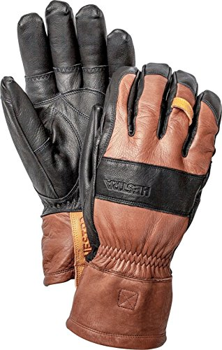 Hestra Ergo Grip Patrol Glove Brown/Black, 9