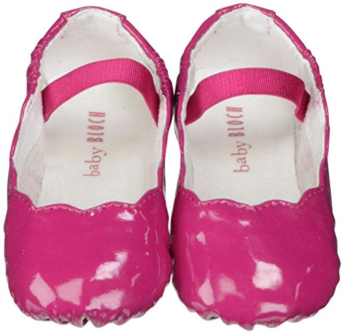 Bloch Baby Girls' Scallop Ballerina - Pink - 1 US/17 EU (Bloch Infant Shoes)