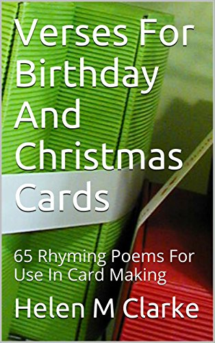 Amazon Verses For Birthday And Christmas Cards 65 Rhyming
