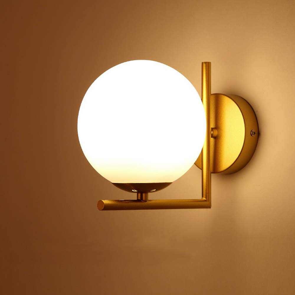 Amazon.com: GlanzLight GL-63087, Lámpara de pared de cristal ...