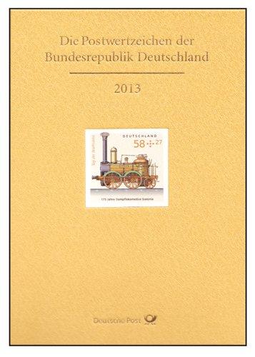Goldhahn BRD Bund JAHRBUCH 2013 postfrisch Briefmarken für Sammler