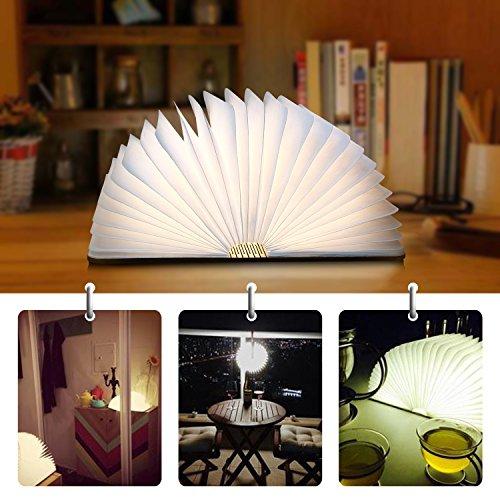 Lampe De Led En Albrillo Pliante 500 Forme Livre D'ambiance Lumens OiuXZPTk