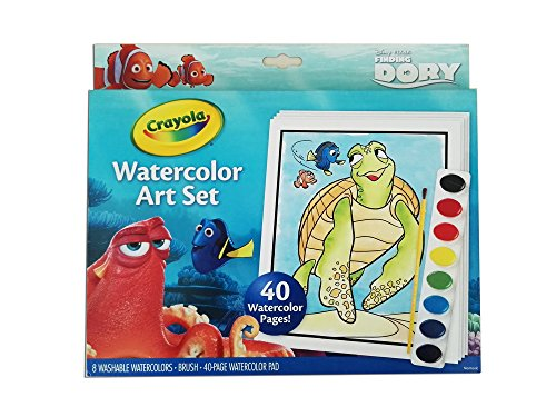 Crayola Finding Dory Watercolor Art
