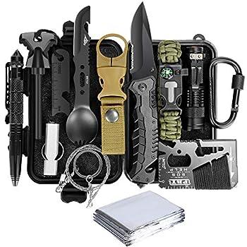Lanqi Emergency Survival kit 14 in 1