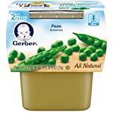 gerber baby food case of 8 - Gerber 2nd Foods Peas Baby Food, 8 Ounce - 8 per case.