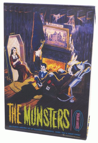 The Munsters Living Room Model kit Polar Lights