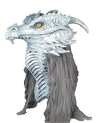 Amazon.com: Scary-Masks Ancient Dragon Premiere Mask