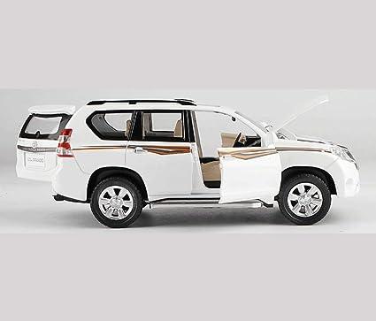 GYZS-TOY Toyota Land Cruiser Prado Alloy Modelo de Coche 1:32 Pullback SUV