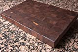 Chopping Blox Walnut End Grain Handmade Wood Cutting Board Large - (TRXM)