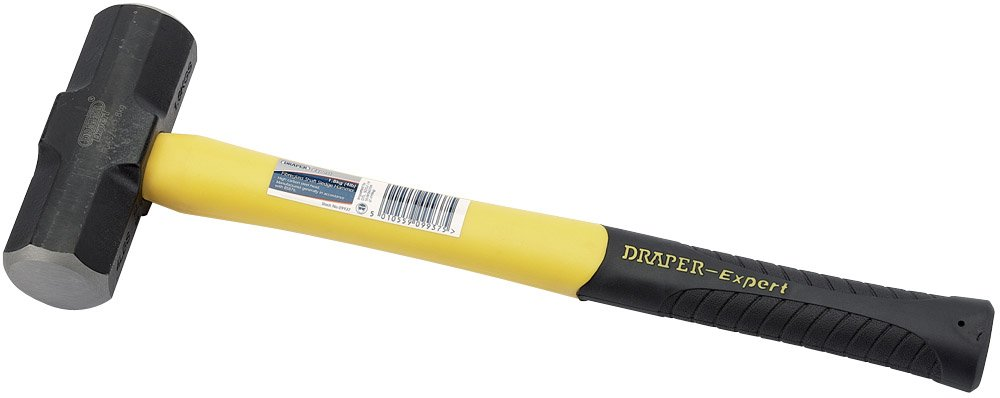 Draper 09938 Masse avec manche en fibre de verre 3,2 kg