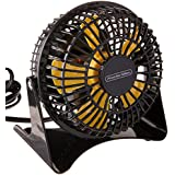 Proctor Silex PO1DF013 4 Personal Desk Fan, Black