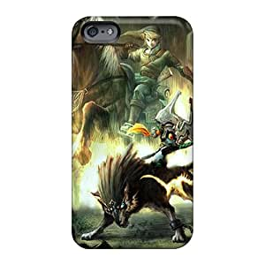 Anti-Scratch Hard Phone Cover For Apple Iphone 6 Plus (neC30186kfFq) Allow Personal Design Vivid The Legend Of Zelda Image