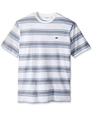 Lacoste Men's Irregular Stripe Jersey T-Shirt
