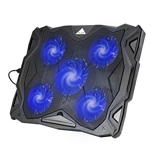 5 fan laptop cooling pad - 4