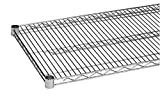 COMMERCIAL WIRE SHELVING | HEAVY DUTY | CHROME PLATED | SET OF 2 SHELVES (14'' X 36'')