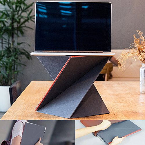 For Sale! Portable sit stand laptop riser for your computer desk -Levit8 by Basic Support - Now you ...