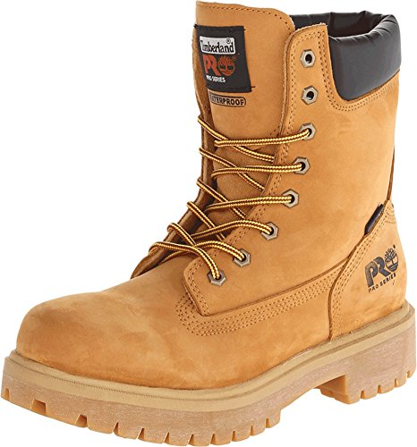 8in Work Boots (Timberland PRO Men's Wheat 26011 Direct Attach 8