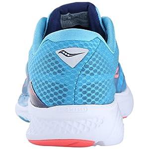 Saucony Women's Kinvara 7 Running Shoe, Blue/Navy/Citron, 6.5 M US