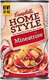 Campbell's Homestyle Soup, Minestrone, 18.6 Ounce (Pack of 12)