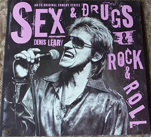 SEX & DRUGS & ROCK & ROLL FX TV PRESS KIT BOOK DENIS LEARY