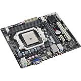 ECS Elitegroup FM1 AMD A55 Micro ATX AMD DDR3 1800 Motherboard A55F-M4