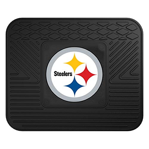 - FANMATS NFL Pittsburgh Steelers Vinyl Utility Mat (Renewed)
