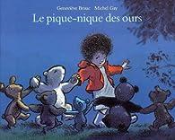 Le pique-nique des ours par Geneviève Brisac
