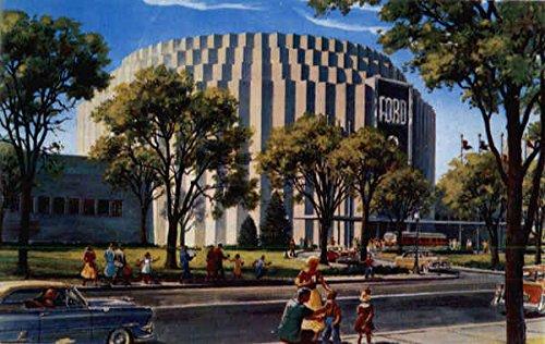 Ford Rotunda Dearborn, Michigan Original Vintage Postcard CardCow.com