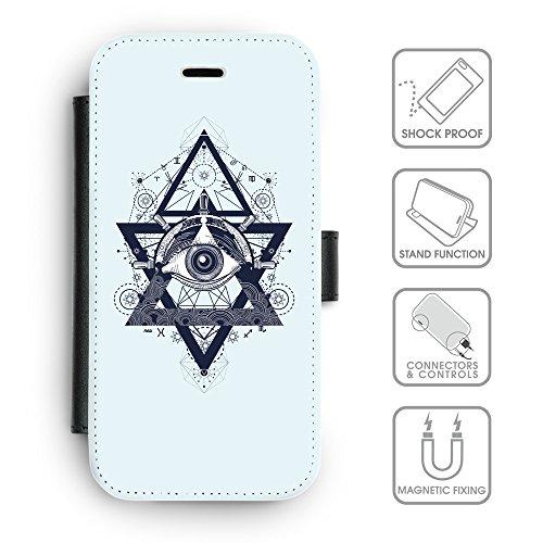 Flip PU Leather Wallet Case avec des fentes de carte de crédit // Q08540619 Religion 18 Bulles // apple iphone 7 2016