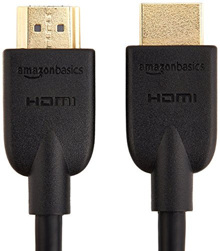 AmazonBasics Mini DisplayPort Thunderbolt to HDMI Adapter, Compatible with iMac, Macbook & High-Speed HDMI Cable, 6 Feet
