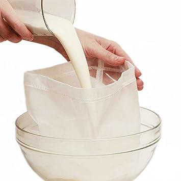 Colador de leche Rocita, para leche, paño de filtrado, set para alternativas de