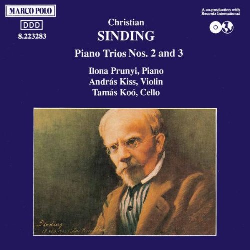SINDING: Piano Trios Nos. 2 Ranking TOP15 Sales results No. 1 and 3