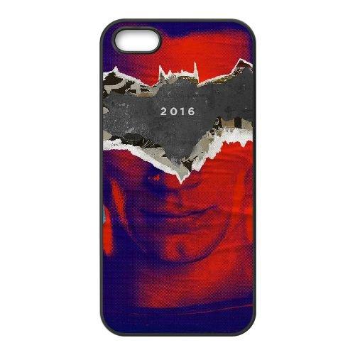 Henry Cavill Batman V Superman 2016 coque iPhone 5 5S cellulaire cas coque de téléphone cas téléphone cellulaire noir couvercle EOKXLLNCD24352