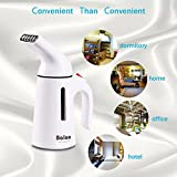 Clothes Steamer,150Ml Fabric Garment Travel Handheld Portable Compact Steamer For Clothes,45 Seconds Fast Heat-up Lightweight Mini Steamer Perfect For Home and Travel ,With Traveling Pouch